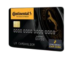 Continental Credit Card