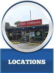 Tire Corral Locations